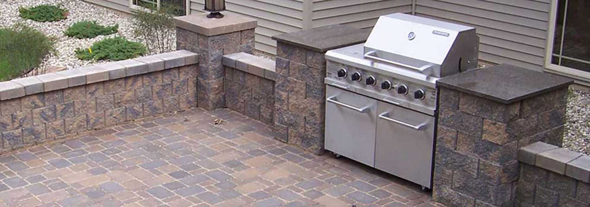How To Build A Bbq Grilling Station Or Bbq Grill Surround