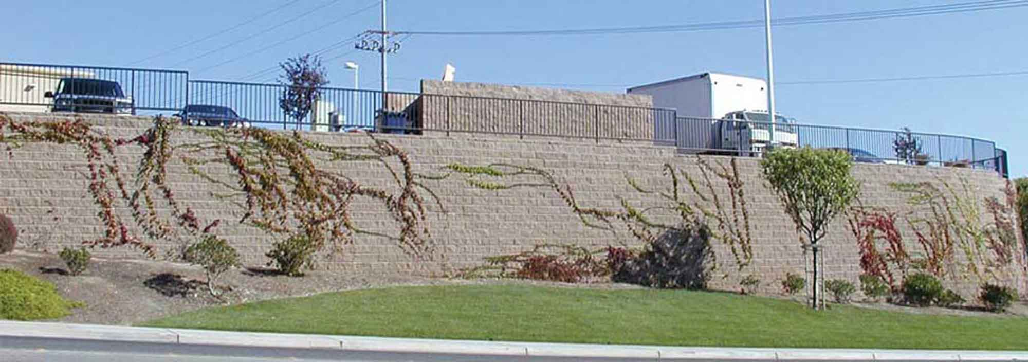 reinforced retaining walls