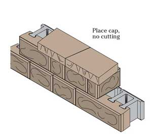 Fieldstone Step-Down cap